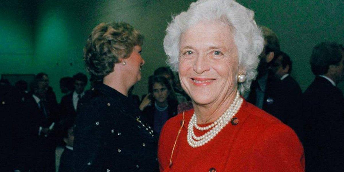 Fallece ex primera dama de EE. UU. Barbara Bush a los 92 años