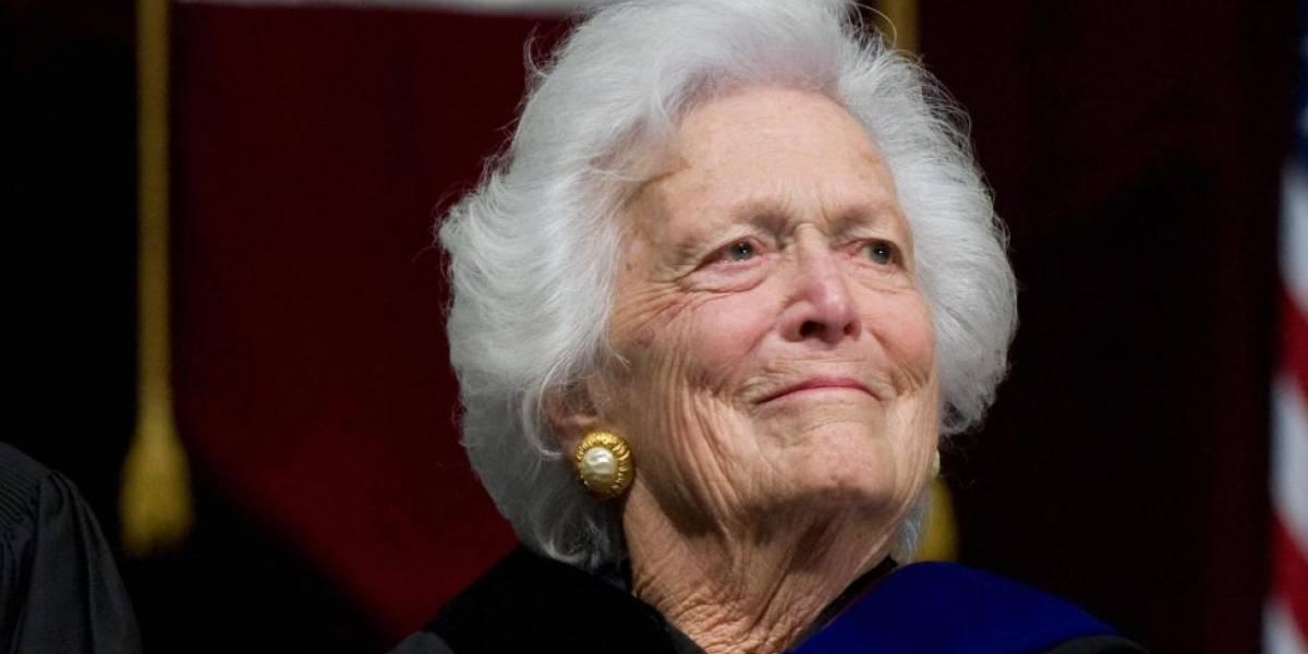 Fallece la ex primera dama de EU, Barbara Bush a los 92 años