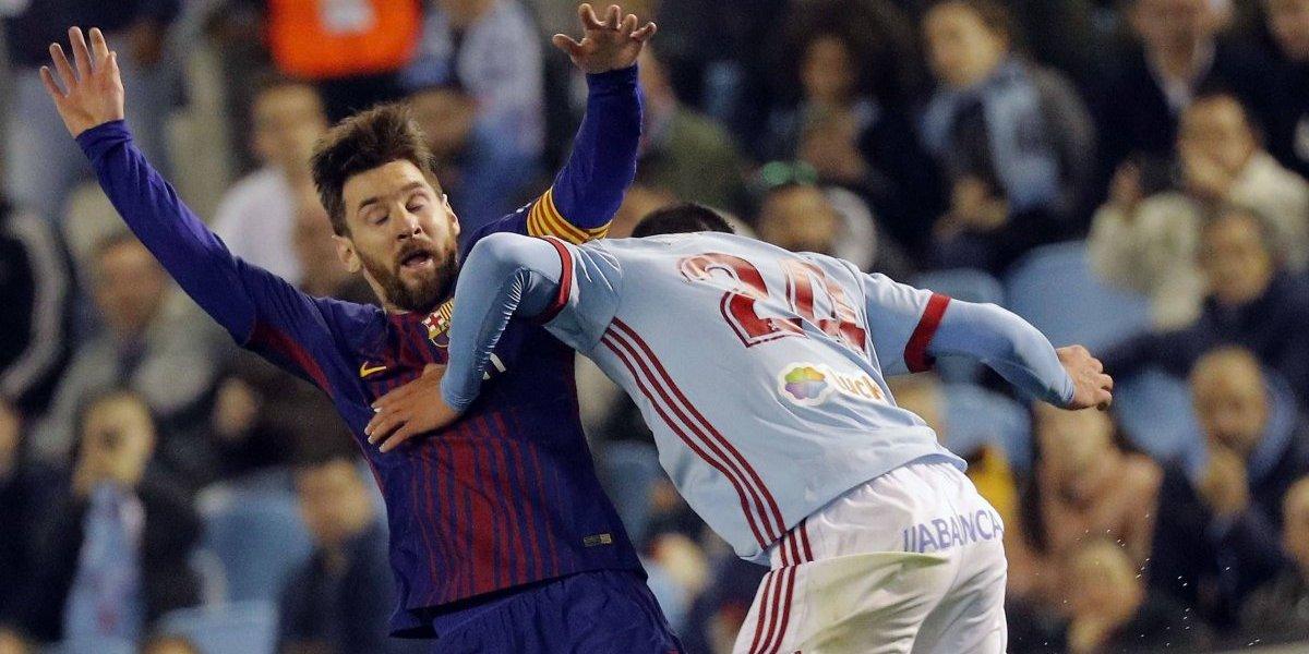 Barcelona empata con el Celta y mantiene el invicto en la Liga Española