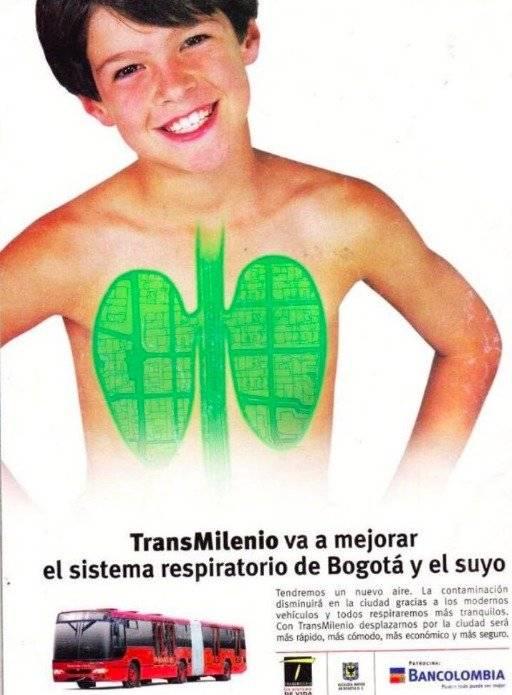 La vieja publicidad de TransMilenio que los usuarios no perdonan
