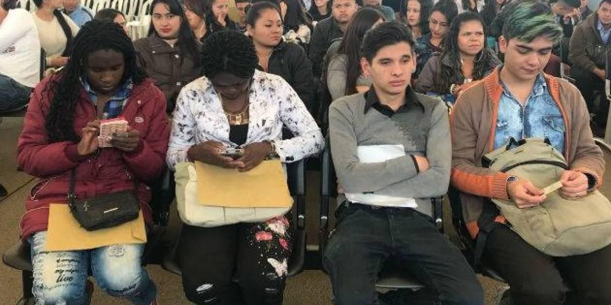 Este martes ofrecen 2700 vacantes laborales para población vulnerable en Bogotá