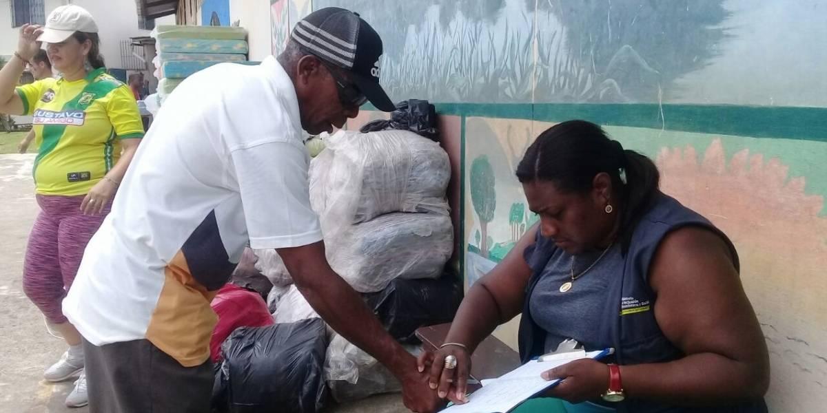 150 familias se han movilizado en Esmeraldas tras situación en frontera