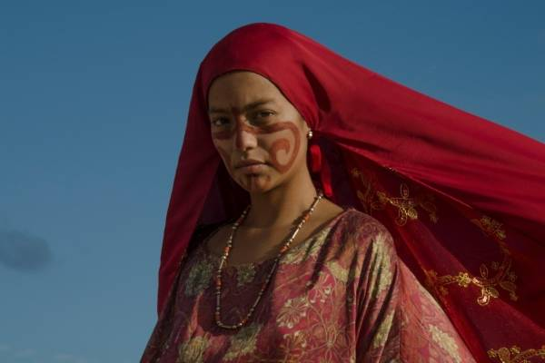 Natalia Reyes como Zaida, en Pájaros de verano