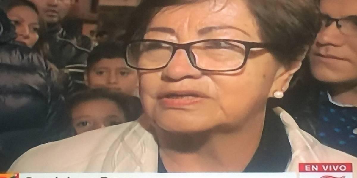 Madre de fotógrafo asesinado pide la renuncia del presidente Lenín Moreno