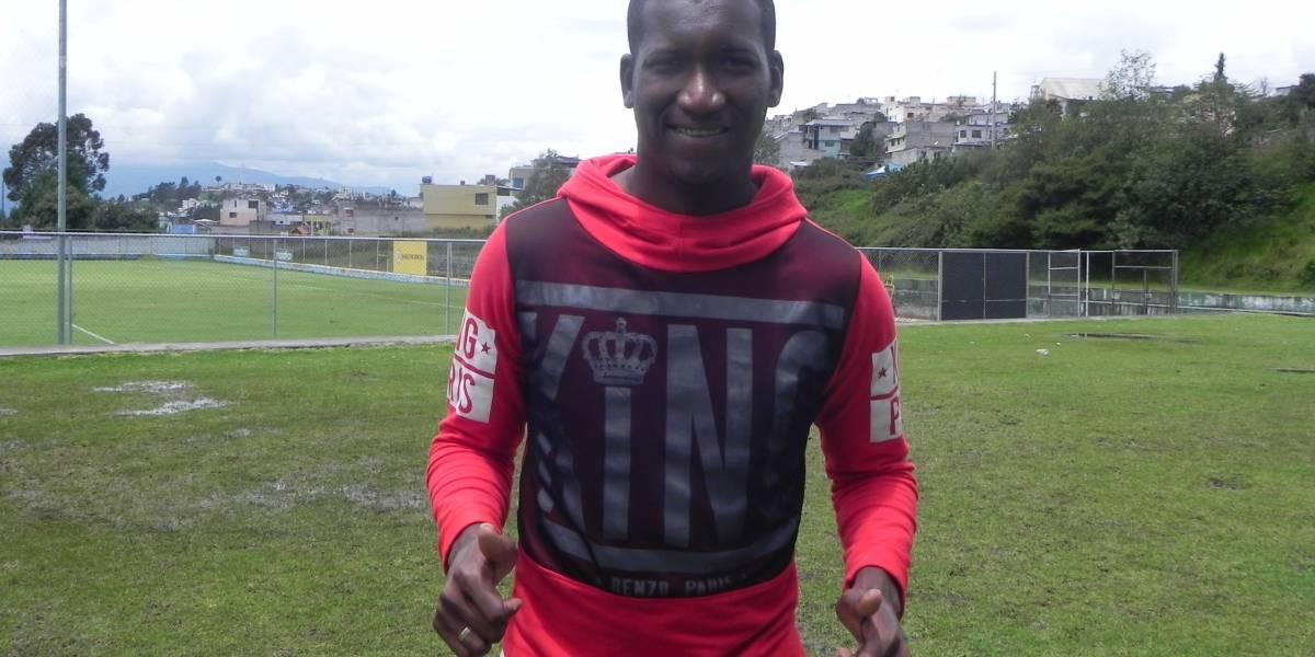 Jhon Jairo Cifuente es barcelonista y la salsa le ayuda a meter sus goles