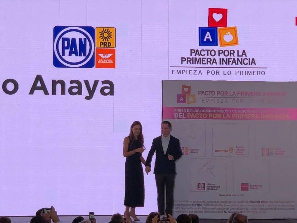 Candidatos presidenciales firman Pacto de la Primera Infancia