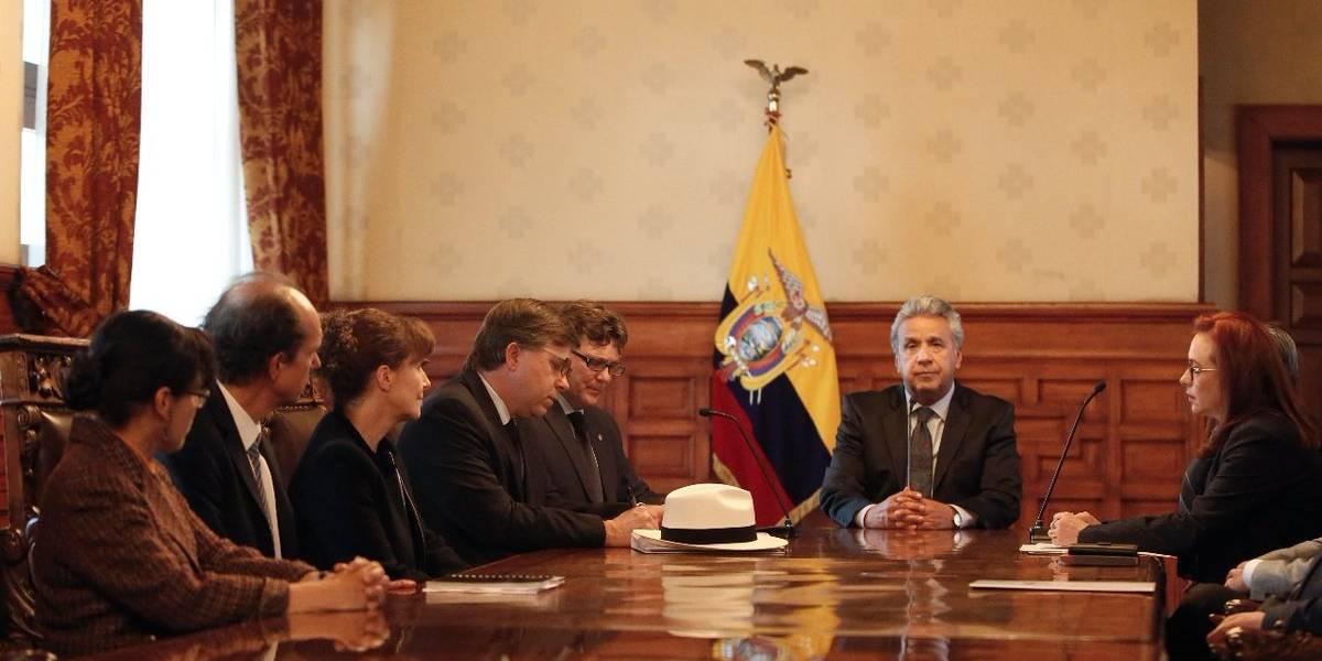 """Lenín Moreno apela a la unidad para poder combatir a """"un enemigo invisible"""""""