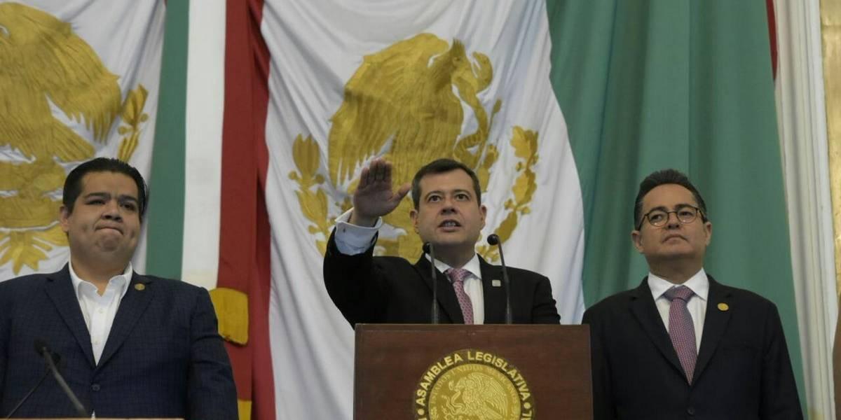 Designan a José Ramón Amieva como nuevo Jefe de Gobierno de la CDMX