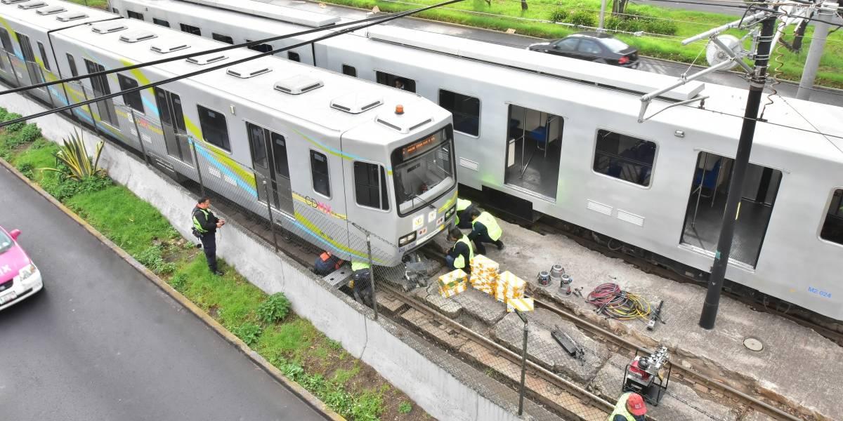 Falla en Tren Ligero provocó retrasos y molestia de usuarios