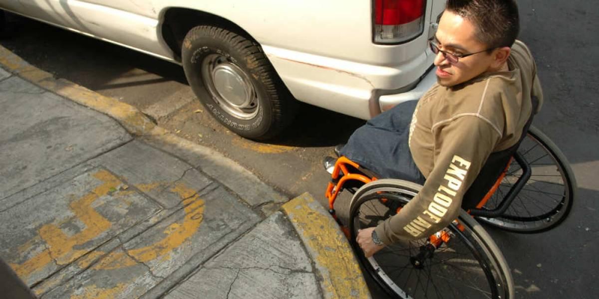 CDMX, aún hostil para personas con discapacidad