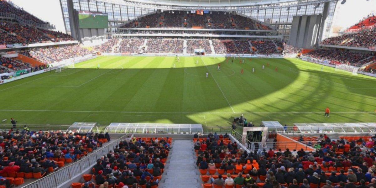 Estadio Ekaterimburgo pasa la prueba previo al Mundial de Rusia
