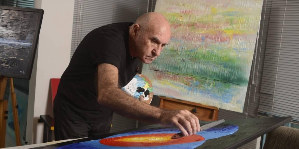 """Pintor francés Michel Bizet celebra el """"Día de la Tierra"""" con exposición en la Zona"""