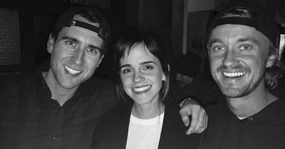 Emma Watson Tom Felton