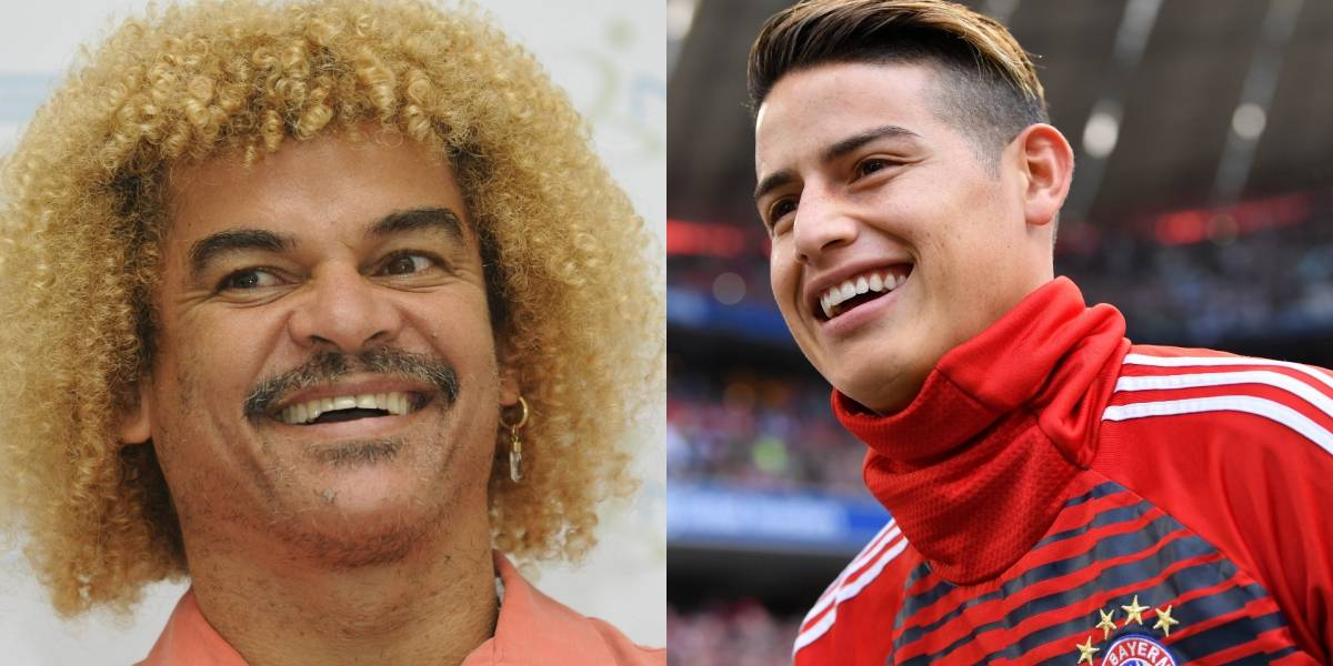 Pibe Valderrama calentó el choque entre James y Real Madrid