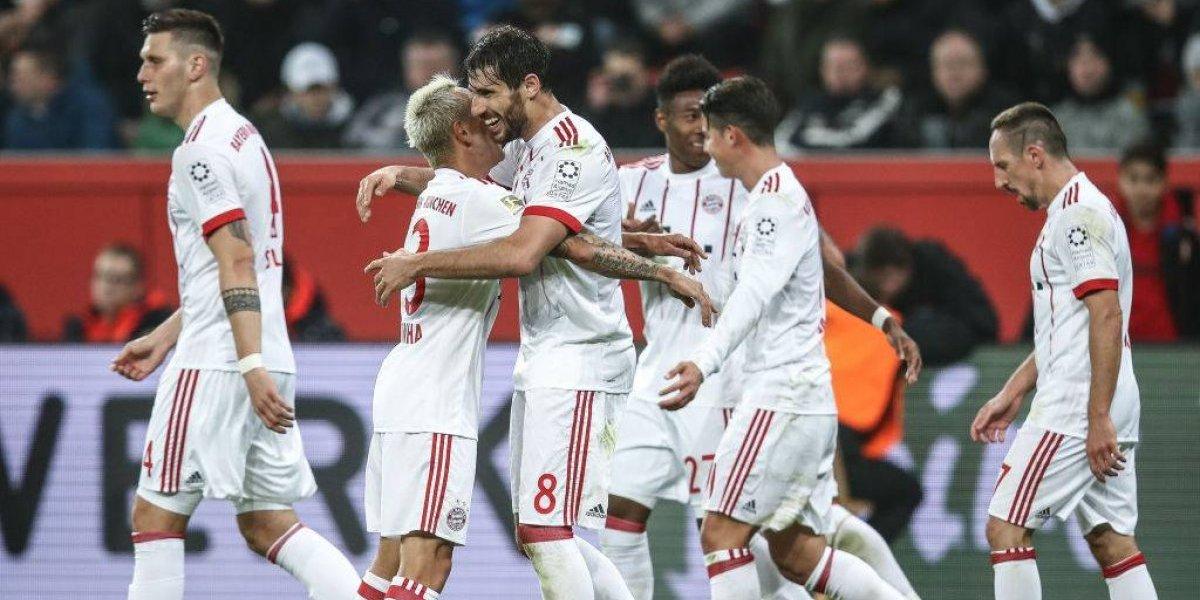 Bayern fue una máquina que arrasó con el Leverkusen de Aránguiz para ir a la final de la Copa de Alemania