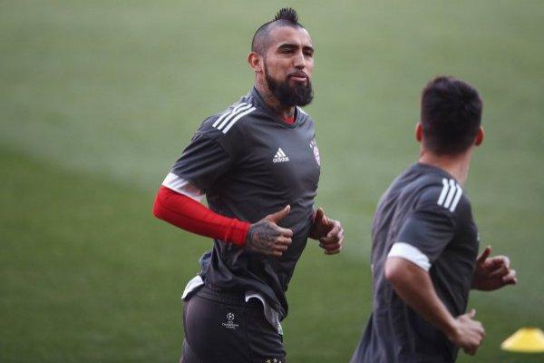 Vidal no estará en la ida de la Champions / imagen: Getty Images