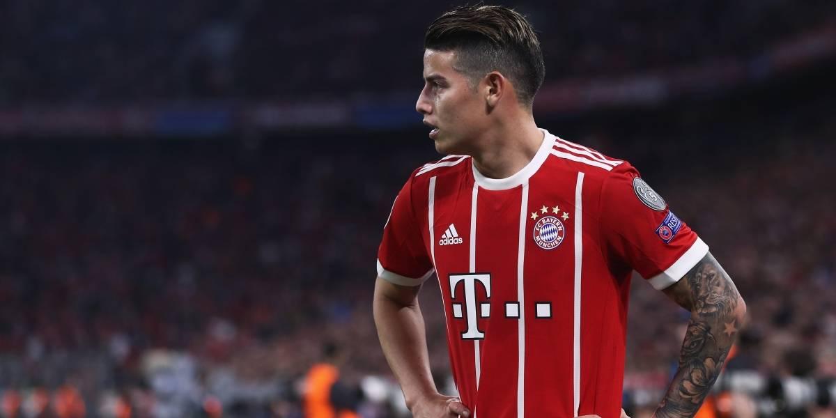 James y Bayern Múnich buscan pasar a la final de Copa Alemania contra Bayer Leverkusen