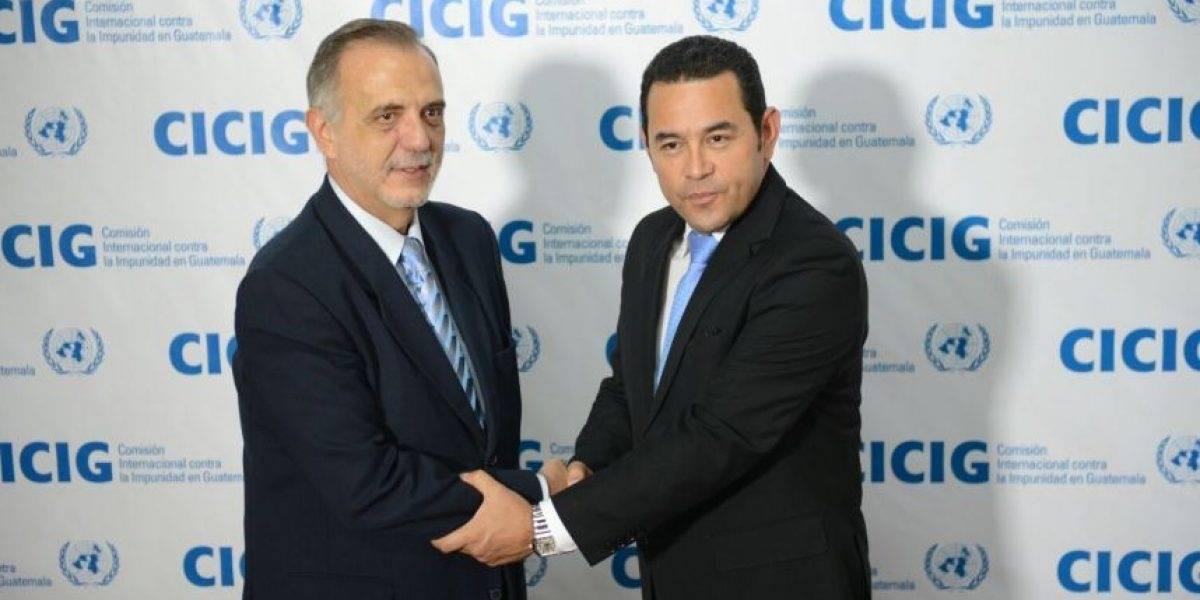 Las acciones de Jimmy Morales contra el jefe de la CICIG, Iván Velásquez