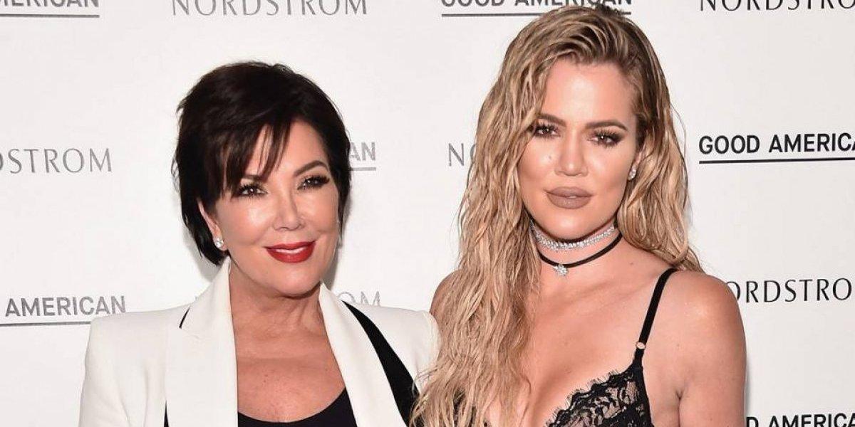 Revelan origen del nombre de hija de Khloé Kardashian