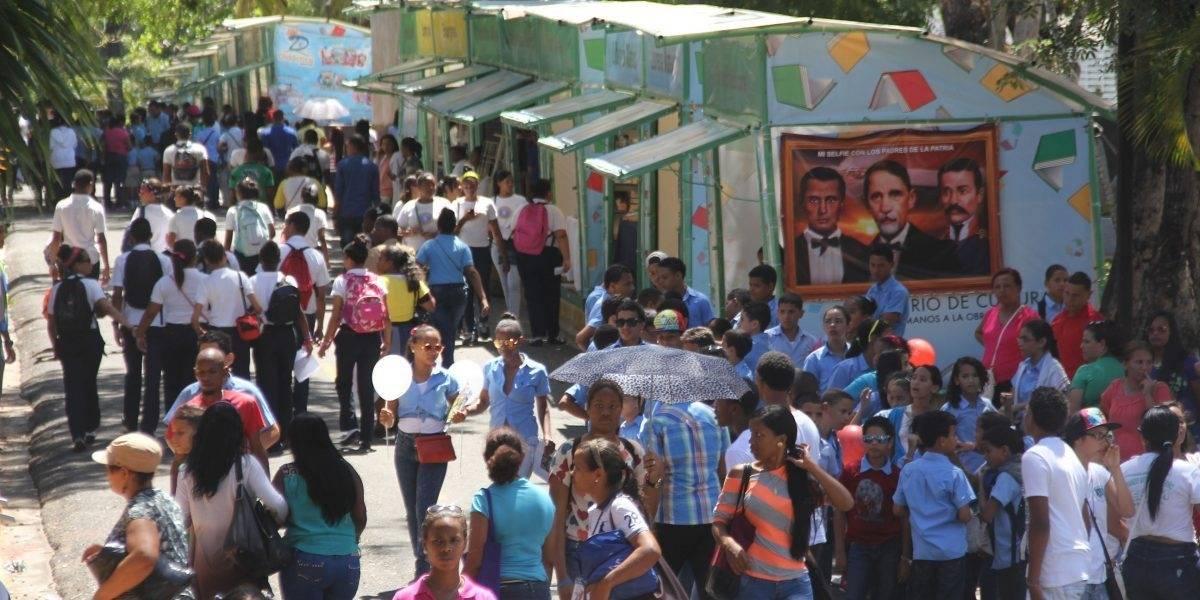 Feria Internacional del Libro Santo Domingo inicia este jueves próximo
