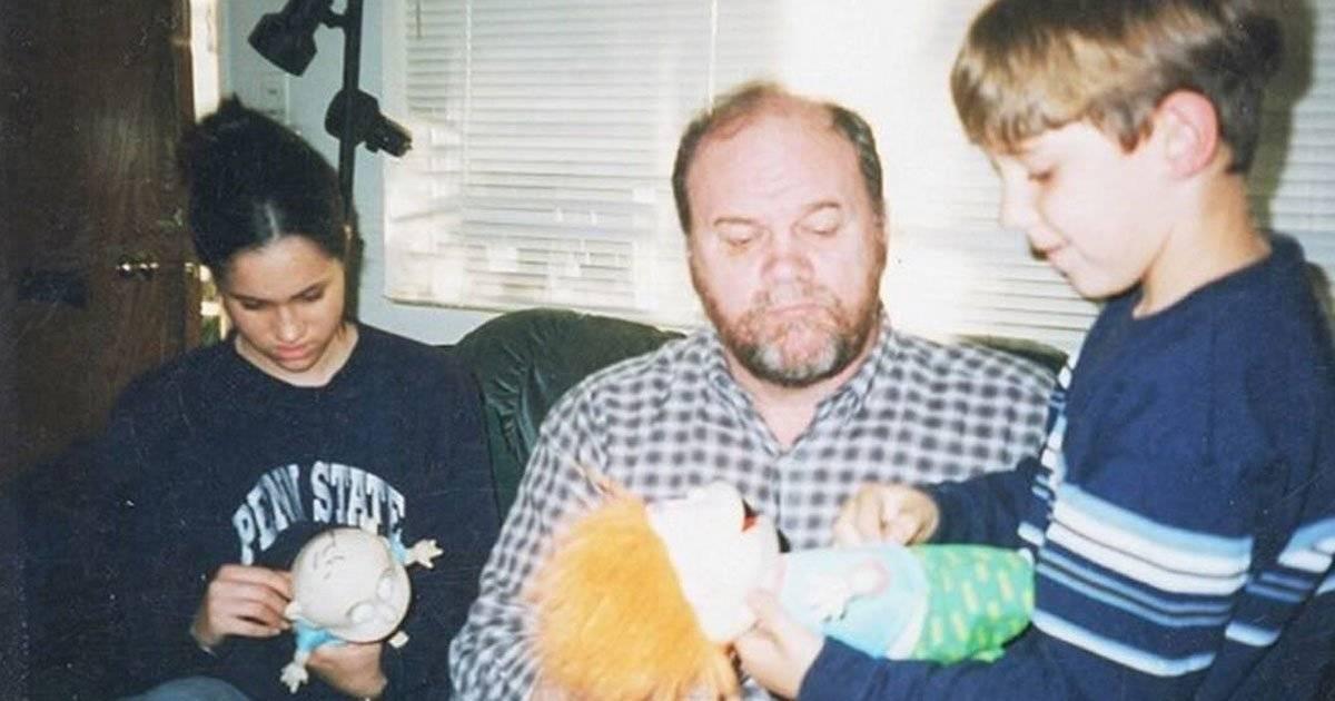 Meghan Markle, o pai e o sobrinho