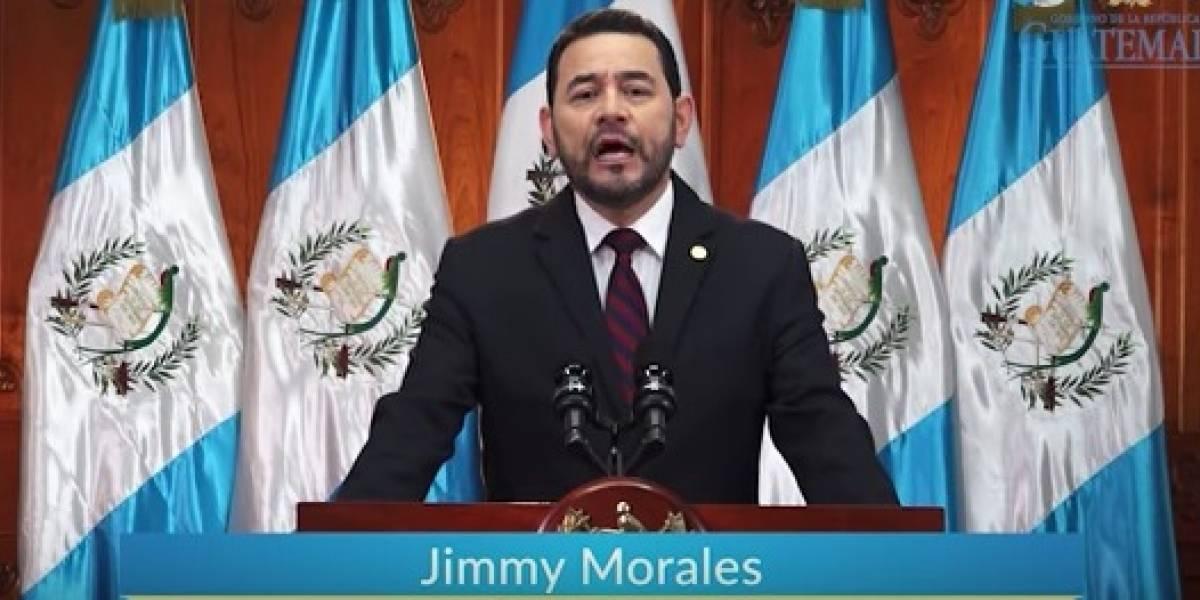 Presidente aplaude participación cívica del pueblo guatemalteco en la consulta popular