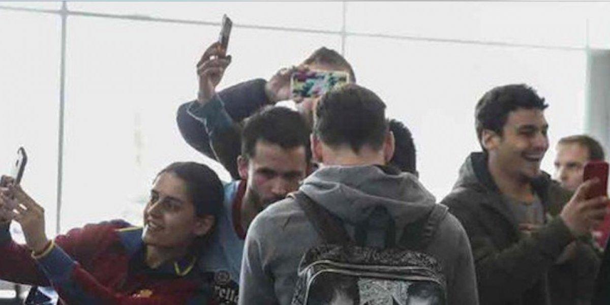 VIDEO. ¿Qué tenía la mochila de Messi, que acaparó la atención en Vigo?