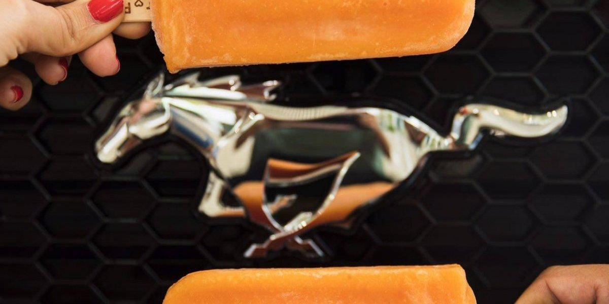 Ford regalará paletas hoy con motivo del 54 aniversario del Mustang