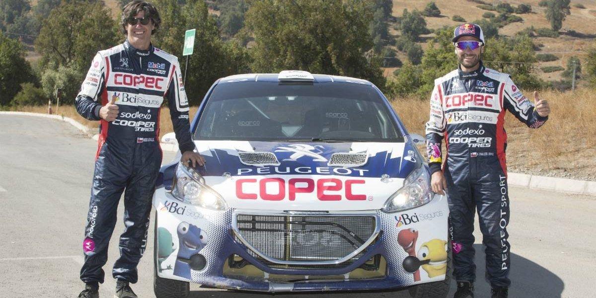 Peugeot presenta la dupla para dar pelea en el Rally Mobil