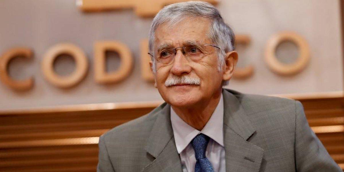 Seguiría siendo el jefe de Codelco: Nelson Pizarro no se movería de la presidencia ejecutiva de la cuprífera estatal