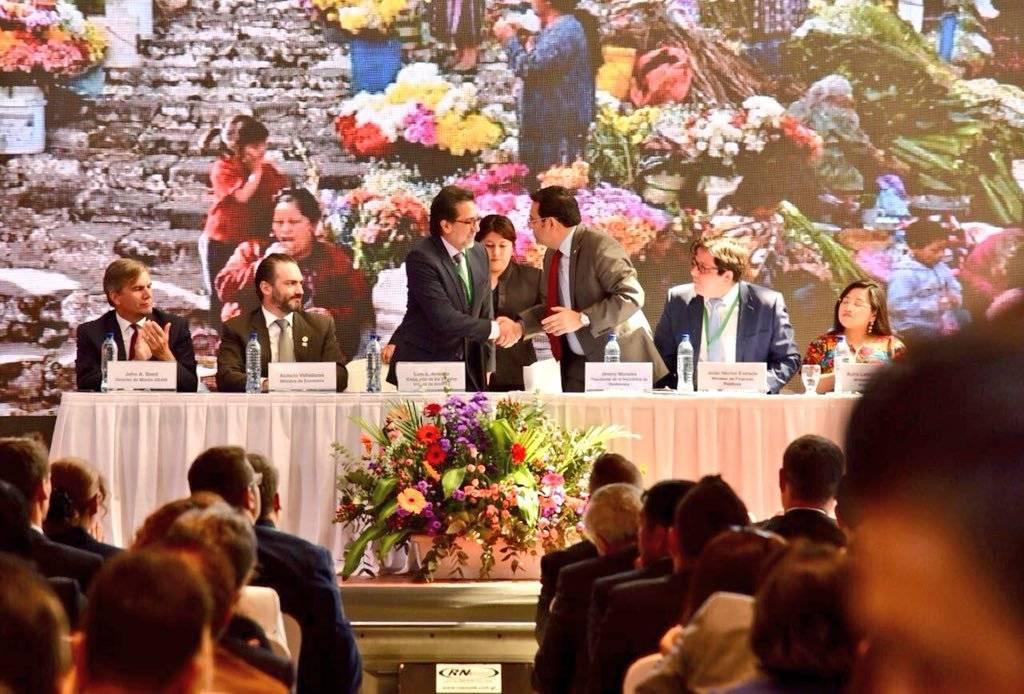 Lanzamiento del proyecto Creando Oportunidades Económicas para Guatemala