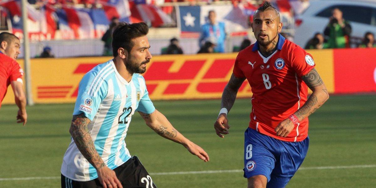 La supuesta broma de Lavezzi a Vidal por su lesión