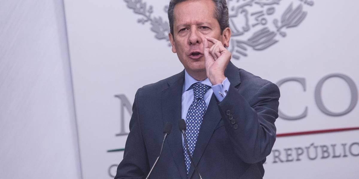 """Conversación Peña-Slim es una """"fake news"""" de AMLO: vocero"""