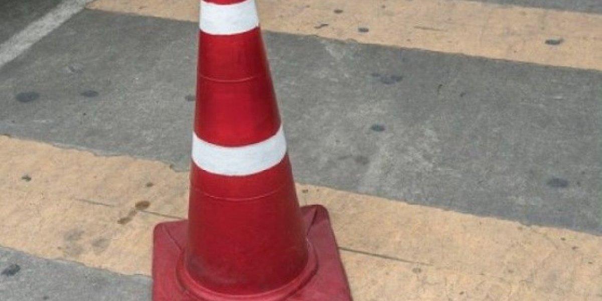 Informan cierre de carril en expreso Las Américas por trabajos