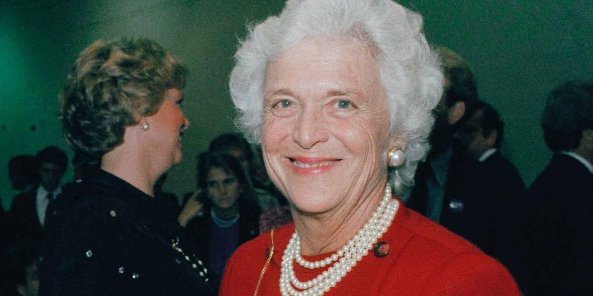 Muere ex primera dama de EE.UU. Barbara Bush