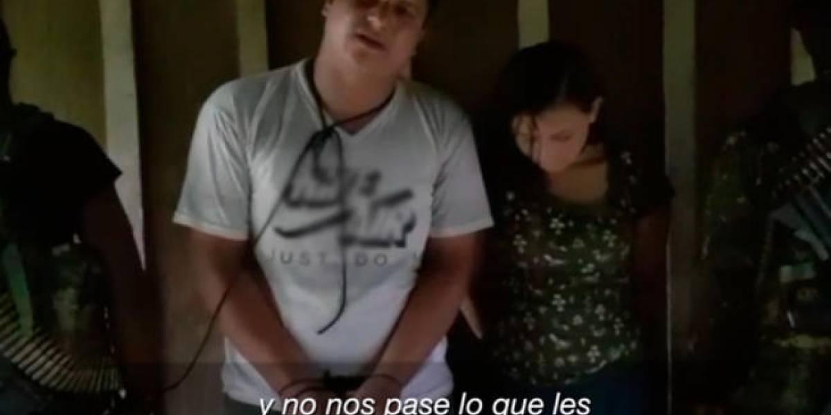 Los familiares de los secuestrados ya se encuentran con las autoridades