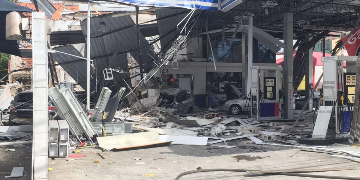 Explosão em posto de combustível deixa feridos na zona norte de São Paulo