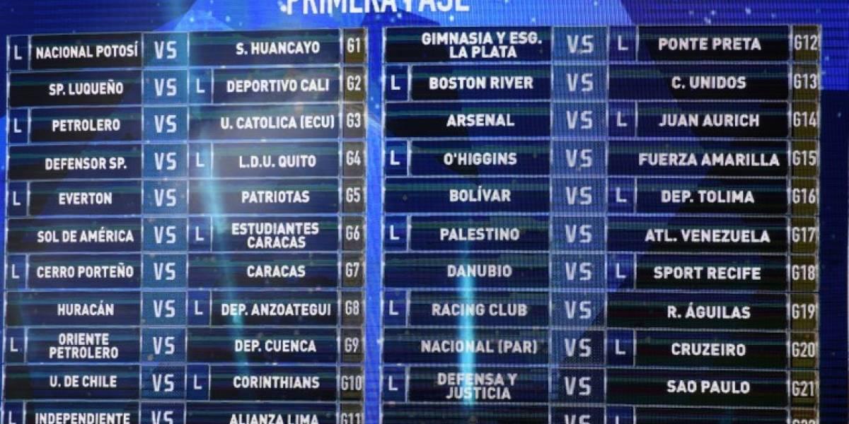 O'Higgins abre la Copa Sudamerica: revisa los horarios de los equipos chilenos en la competición
