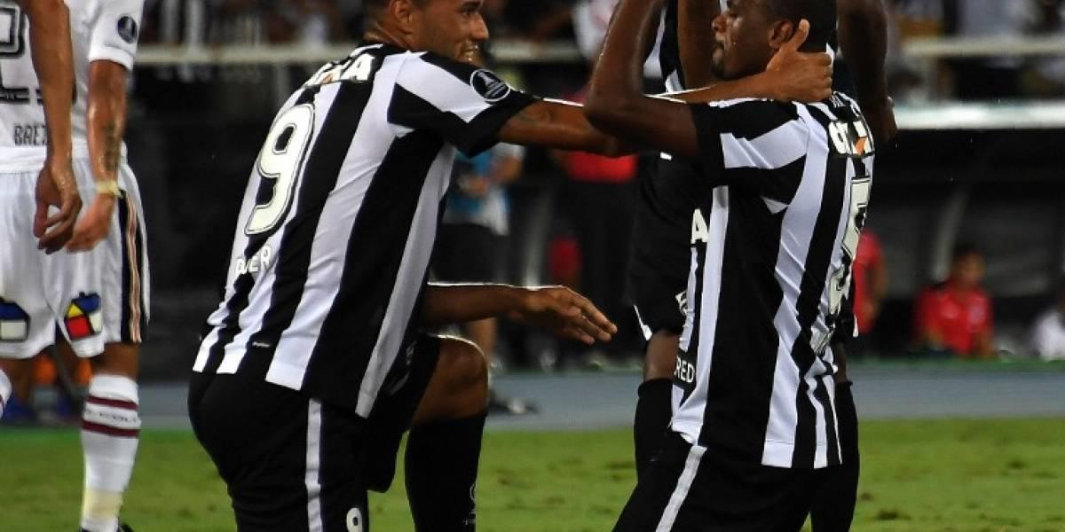 Figura de Botafogo se recuperó y estará ante Colo Colo en la revancha