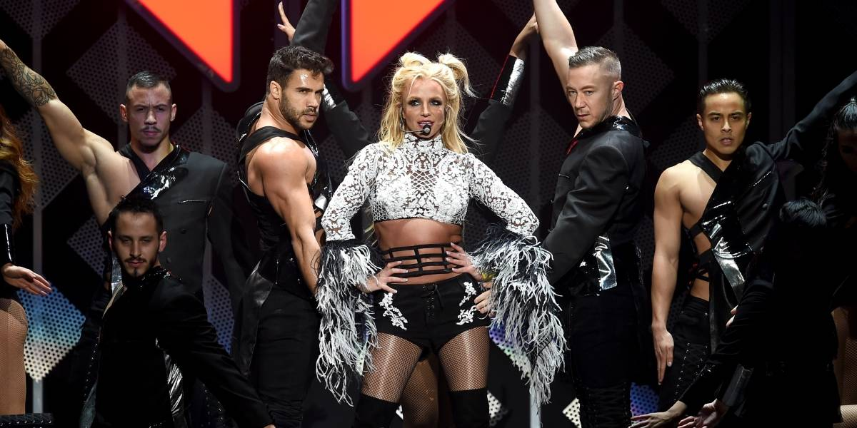 Britney Spears mostró más de la cuenta durante show en Las Vegas