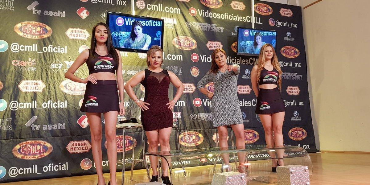 Amazonas apostarán cabellera en el 62 aniversario de la Arena México