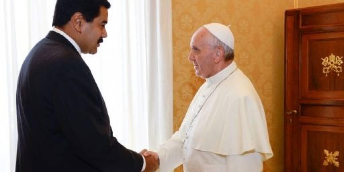 Maduro dice que gestiona cita gobierno-oposición con el Papa Francisco