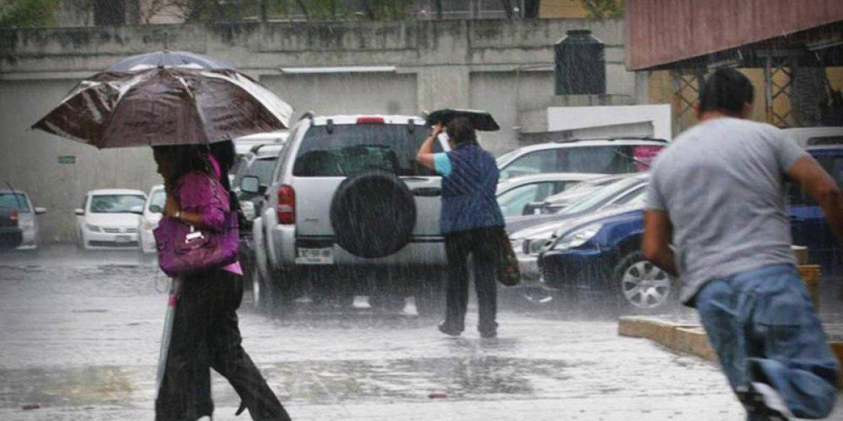 Onamet pronostica aguaceros para hoy y altas temperaturas para mañana