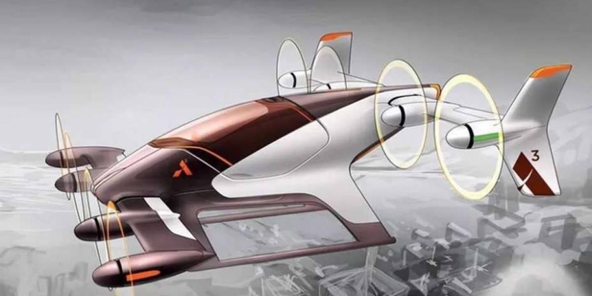 """Así es el primer """"auto volador"""" que Airbus probará antes de fin de año"""