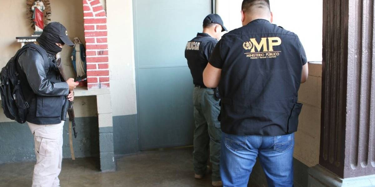 MP y PNC realizan operativo a gran escala contra las extorsiones
