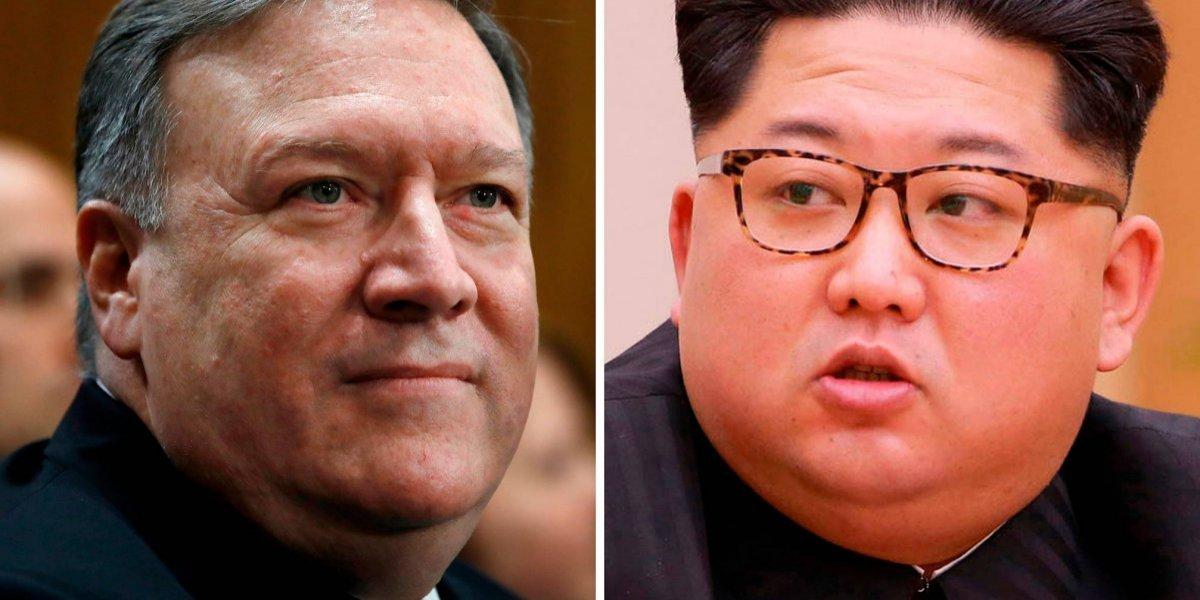 Trump confirma reunión secreta entre director de la CIA y Kim Jong-un