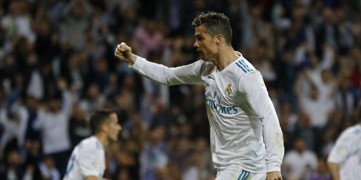 Cristiano Ronaldo rescata al Real Madrid de la derrota