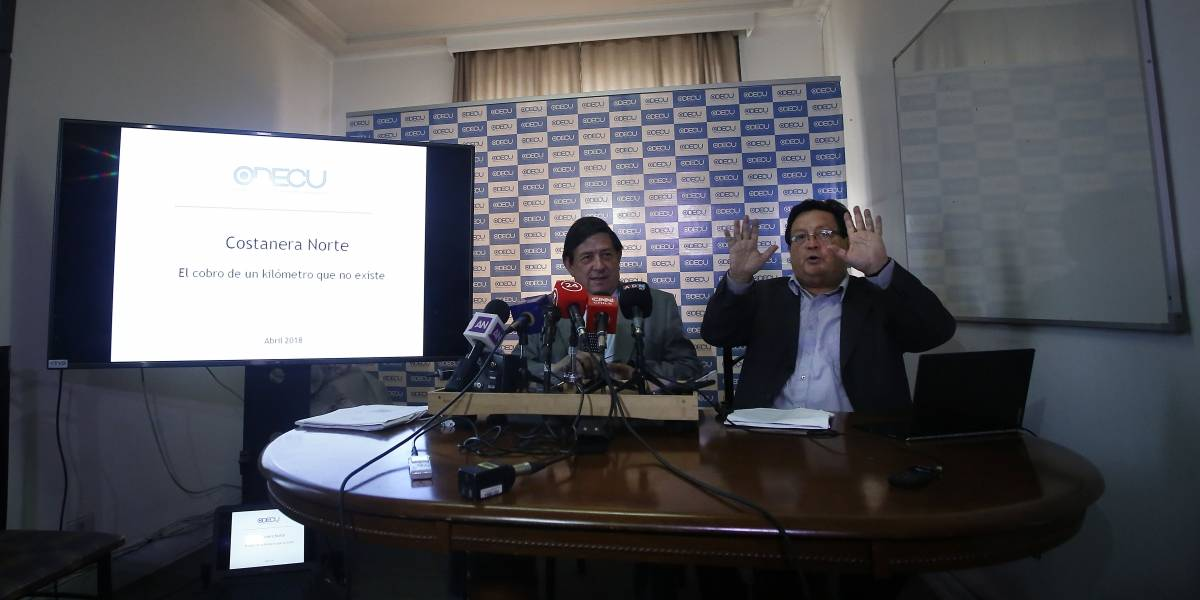 Odecu denuncia el cobro adicional por $670 millones de Costanera Norte