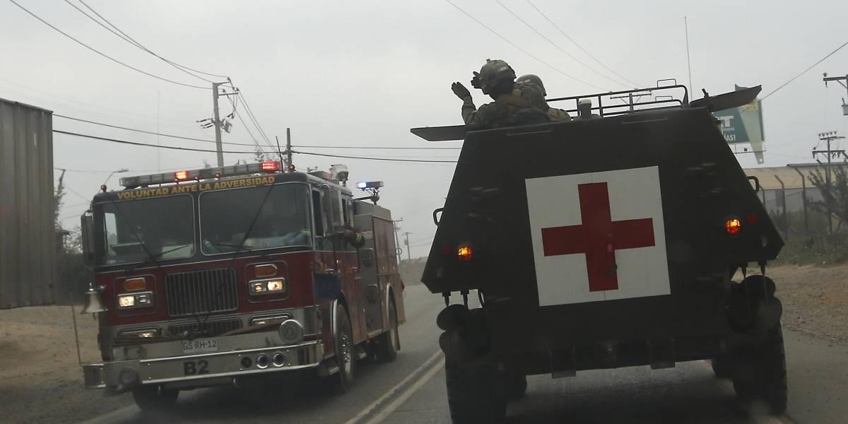 """Mayor Roberto Ramis, encargado de la seguridad en Santa Olga: """"Han sido días muy intensos"""""""