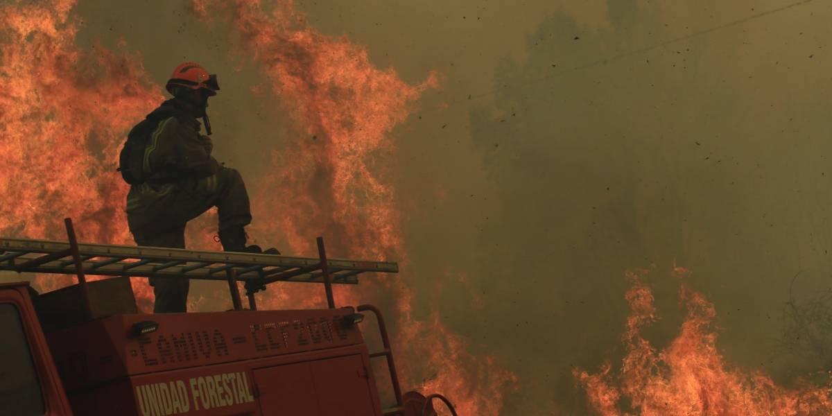 Cores aprueban 1.100 millones de pesos para combatir incendios en RM
